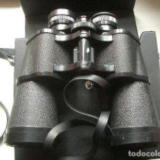 Antigüedades: ANTIGUOS BINOCULARES PRISMÁTICOS DE MARCA SUPER ZENIT. Lote 257692195