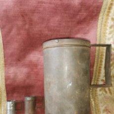 Antigüedades: LOTE MEDIDAS PARA LÍQUIDOS. AÑOS 30-40.J.RIPOLL.MADRID.V. BARTOLOME, BARCELONA Y J.CELDA DE VALENCIA. Lote 257788710