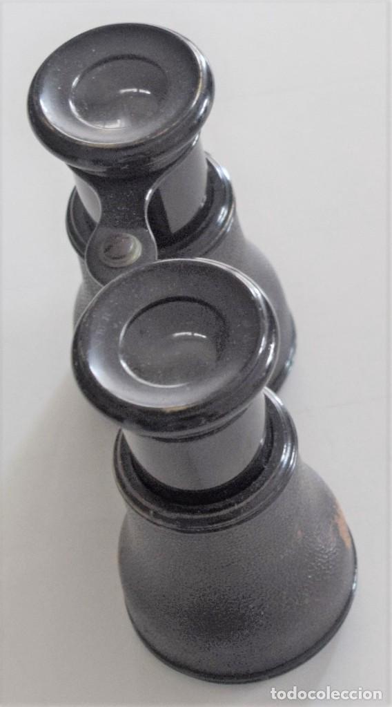 Antigüedades: BINOCULAR ANTIGUO GRABADO G. WALLNER OPTICIEN - 22, CORRATERIE - GENEVE - Foto 4 - 257838745