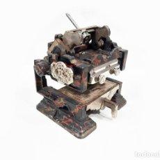 Antigüedades: PEQUEÑA IMPRENTA DE MESA - LE TIMBRE PRESSE BREVETE -. Lote 51395652