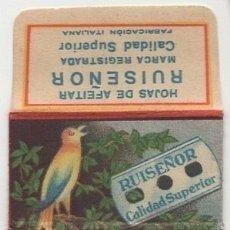 Antigüedades: HOJA DE AFEITAR - CUCHILLA DE AFEITAR - RUISEÑOR. Lote 257973180