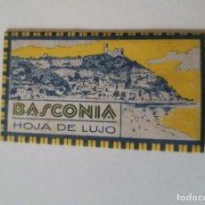 Antigüedades: HOJA DE AFEITAR CON FUNDA BASCONIA EN ESTUPENDO ESTADO. Lote 258006430