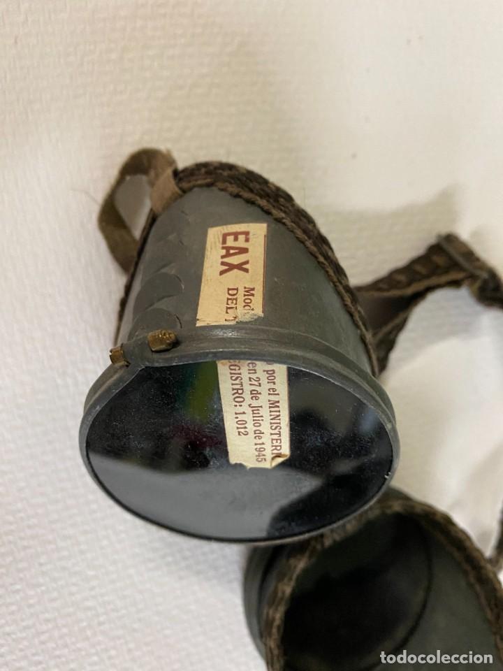Antigüedades: Antiguas gafas de rayos X. Perfectas. EAX, 27 de julio de 1945. Ministerio del Interior. - Foto 3 - 258063875