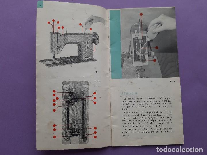 Antigüedades: ANTIGUO CATALOGO PUBLICIDAD INSTRUCCIONES MAQUINA DE COSER WERTHEIM MODELO BR RAPIDA - Foto 3 - 258086260