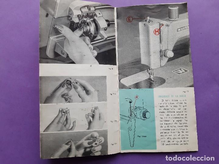 Antigüedades: ANTIGUO CATALOGO PUBLICIDAD INSTRUCCIONES MAQUINA DE COSER WERTHEIM MODELO BR RAPIDA - Foto 4 - 258086260