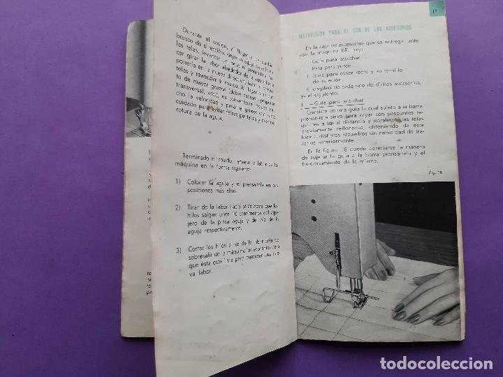 Antigüedades: ANTIGUO CATALOGO PUBLICIDAD INSTRUCCIONES MAQUINA DE COSER WERTHEIM MODELO BR RAPIDA - Foto 6 - 258086260