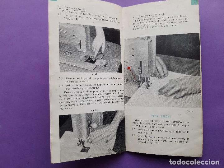 Antigüedades: ANTIGUO CATALOGO PUBLICIDAD INSTRUCCIONES MAQUINA DE COSER WERTHEIM MODELO BR RAPIDA - Foto 7 - 258086260