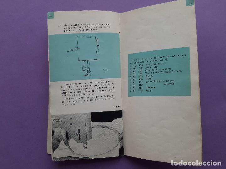 Antigüedades: ANTIGUO CATALOGO PUBLICIDAD INSTRUCCIONES MAQUINA DE COSER WERTHEIM MODELO BR RAPIDA - Foto 8 - 258086260