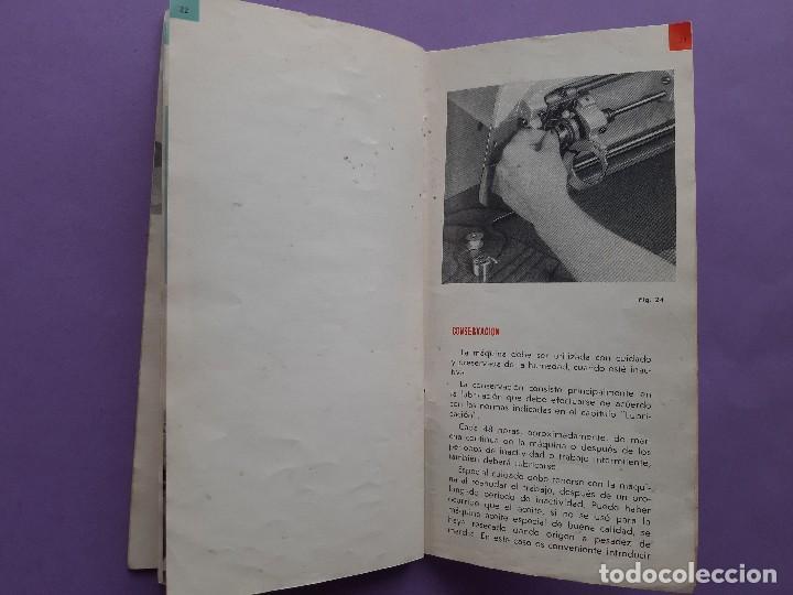Antigüedades: ANTIGUO CATALOGO PUBLICIDAD INSTRUCCIONES MAQUINA DE COSER WERTHEIM MODELO BR RAPIDA - Foto 9 - 258086260