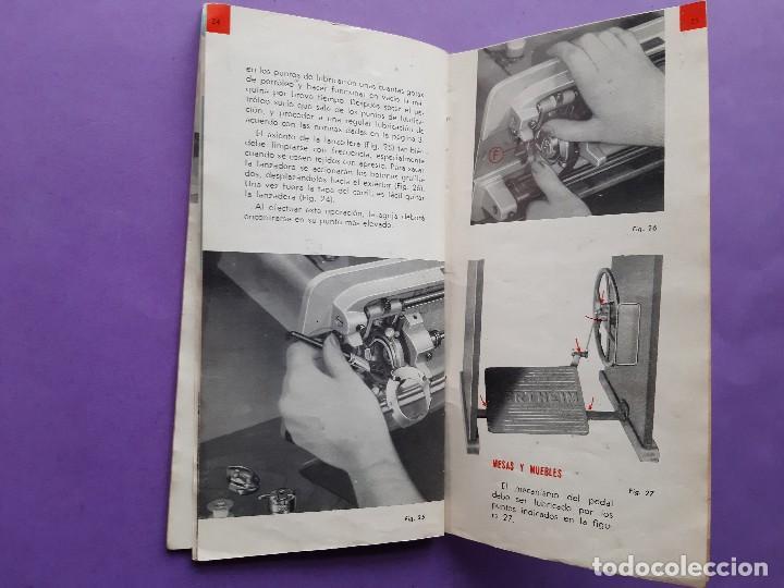 Antigüedades: ANTIGUO CATALOGO PUBLICIDAD INSTRUCCIONES MAQUINA DE COSER WERTHEIM MODELO BR RAPIDA - Foto 10 - 258086260