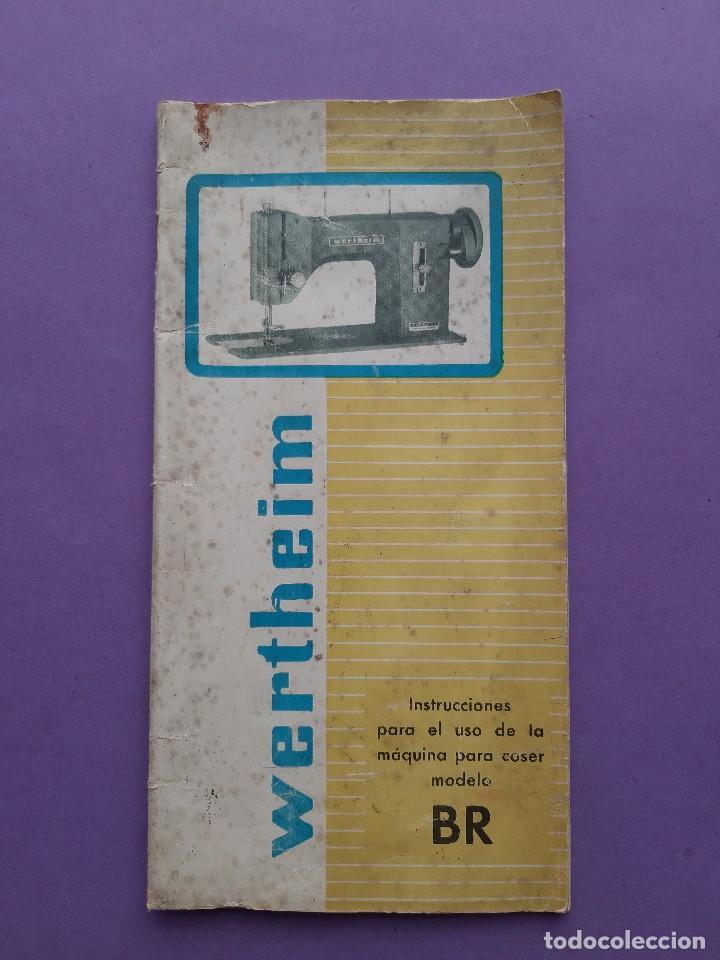 Antigüedades: ANTIGUO CATALOGO PUBLICIDAD INSTRUCCIONES MAQUINA DE COSER WERTHEIM MODELO BR RAPIDA - Foto 12 - 258086260