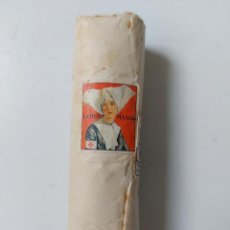 Antigüedades: MUY ANTIGUA VENDA HIDROFILA - LA HERMANA - FRACSA - FARMACIA E. ALONSO ORTEGA SEPULVEDA SEGOVIA - S. Lote 258102600