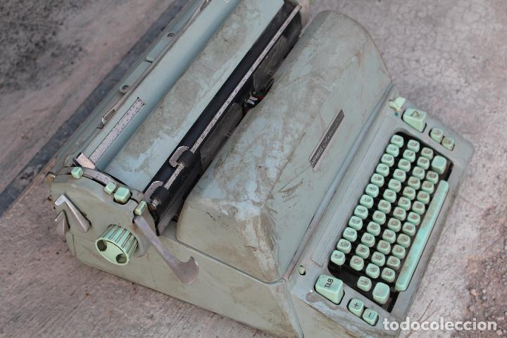 Antigüedades: Máquina de escribir HERMES AMBASSADOR - Foto 2 - 258228080