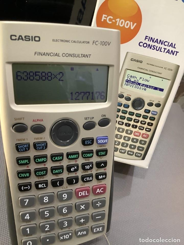 CALCULADORA CASIO FC 100V FINANCIERA ¡¡¡NUEVA!!! (Antigüedades - Técnicas - Aparatos de Cálculo - Calculadoras Antiguas)