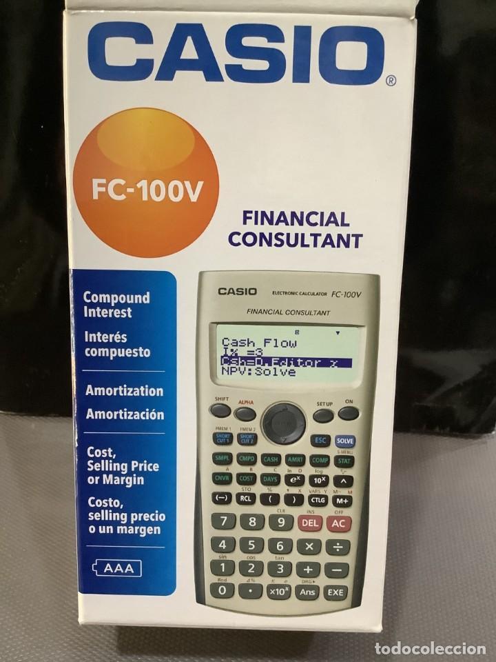 Antigüedades: CALCULADORA CASIO FC 100V FINANCIERA ¡¡¡NUEVA!!! - Foto 5 - 82357720