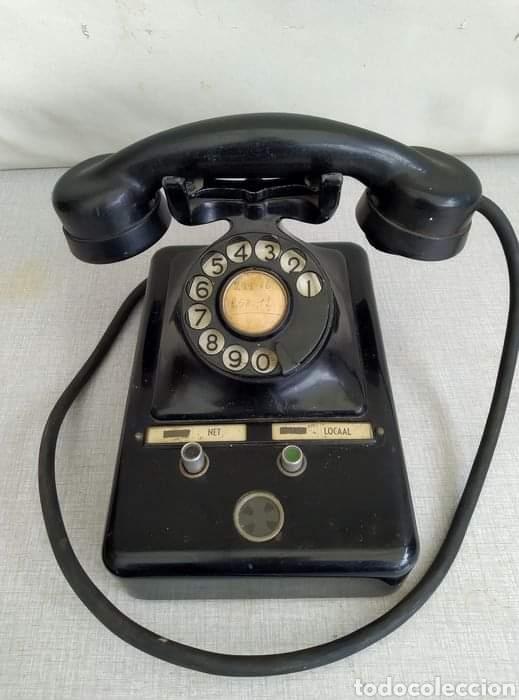 ANTIGUO TELÉFONO ERICSON. ORIGINAL (Antigüedades - Técnicas - Teléfonos Antiguos)
