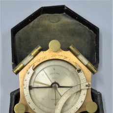 Antigüedades: CUADRANTE SOLAR NAUTICO. RELOJ DE SOL. BOUCART. PARIS. Lote 259013030
