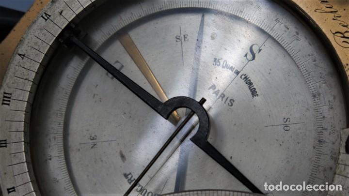 Antigüedades: CUADRANTE SOLAR NAUTICO. RELOJ DE SOL. BOUCART. PARIS - Foto 8 - 259013030
