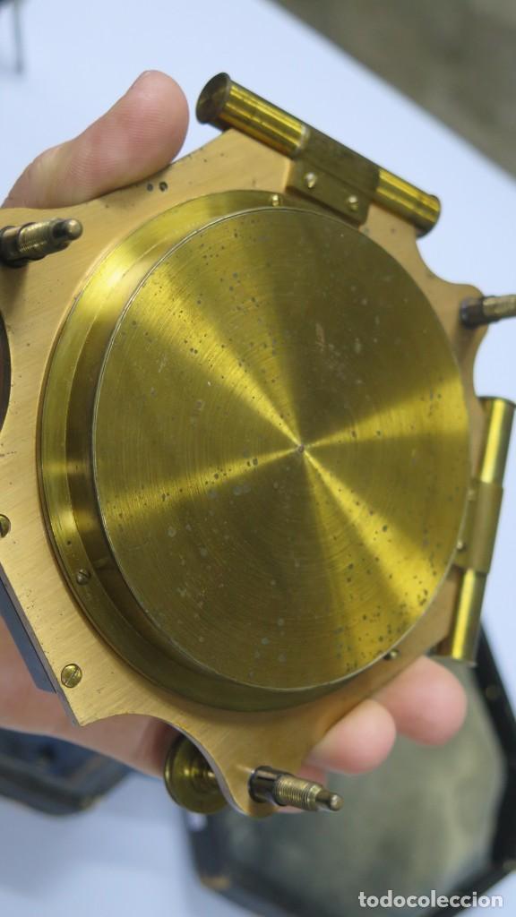 Antigüedades: CUADRANTE SOLAR NAUTICO. RELOJ DE SOL. BOUCART. PARIS - Foto 9 - 259013030