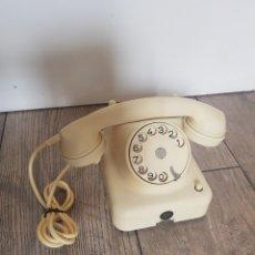 Teléfonos: TELEFONO ANTIGUO SCHRACK AUSTRIA SOBREMESA ANTIGUO BLANCO BLANCA AUSTRIACO VINTAGE ORIGINAL. Lote 259063650
