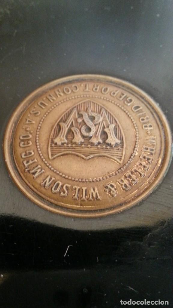 Antigüedades: Máquina de coser antigua. Marca Wheeler & Wilson. - Foto 5 - 259229095