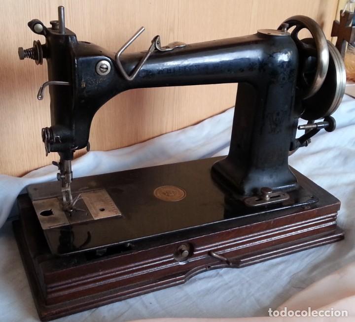 Antigüedades: Máquina de coser antigua. Marca Wheeler & Wilson. - Foto 11 - 259229095