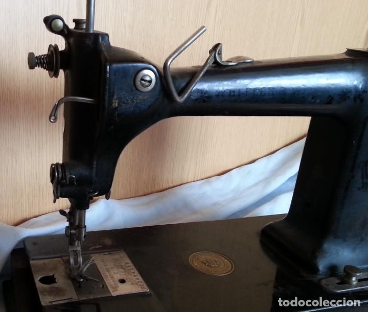 Antigüedades: Máquina de coser antigua. Marca Wheeler & Wilson. - Foto 12 - 259229095