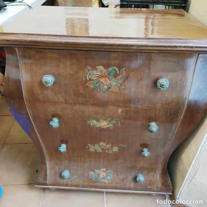 Antigüedades: Antigua máquina de coser CIMA, Estarta y Ecenarro, 1940 - Con mueble excepcional - Foto 9 - 259323615