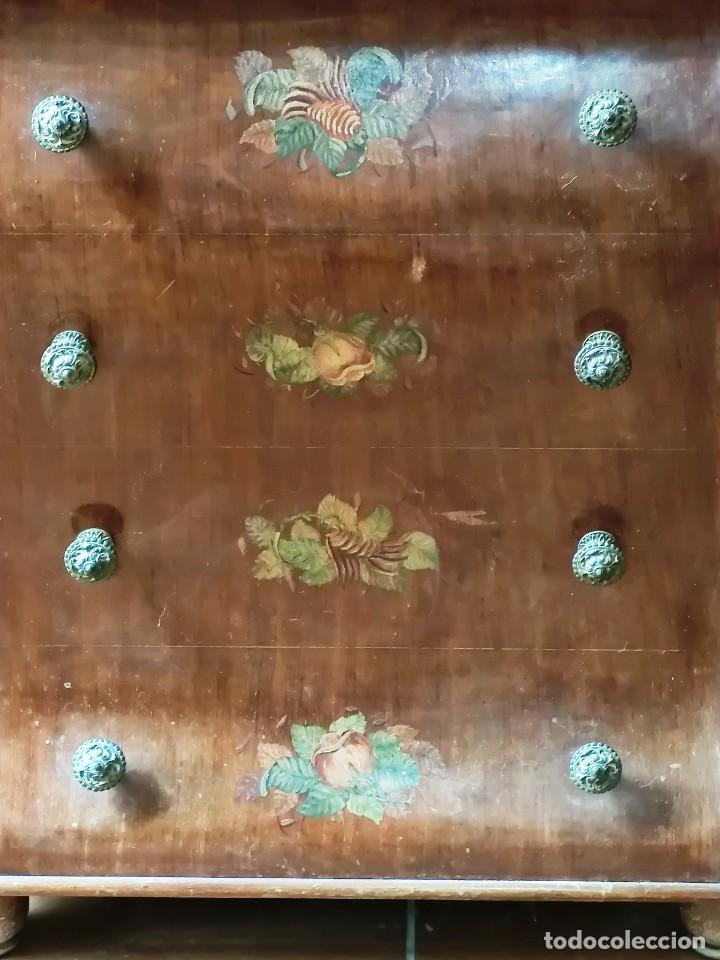 Antigüedades: Antigua máquina de coser CIMA, Estarta y Ecenarro, 1940 - Con mueble excepcional - Foto 10 - 259323615