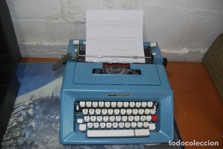 MAQUINA DE ESCRIBIR OLIVETTI EN PERFECTO ESTADO (Antigüedades - Técnicas - Máquinas de Escribir Antiguas - Olivetti)