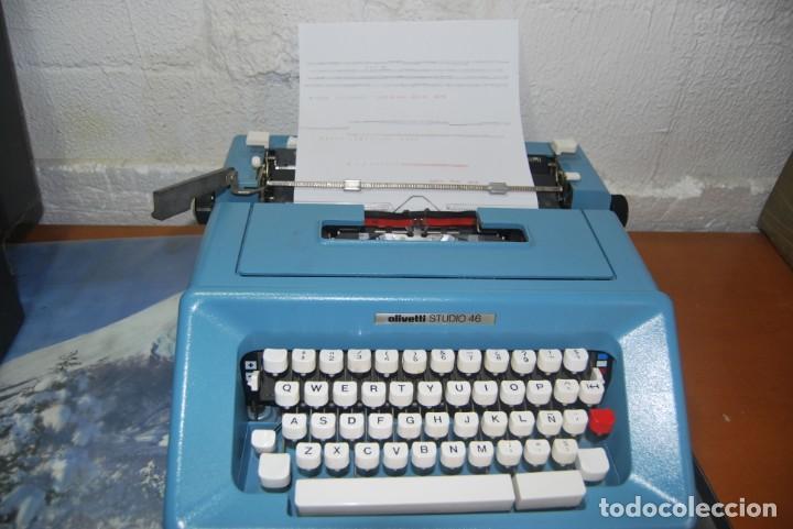 Antigüedades: maquina de escribir olivetti en perfecto estado - Foto 3 - 259707555