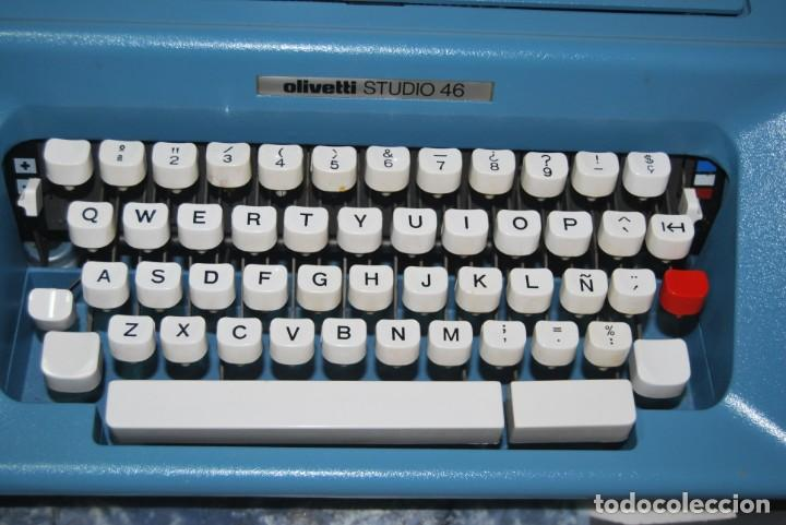 Antigüedades: maquina de escribir olivetti en perfecto estado - Foto 4 - 259707555