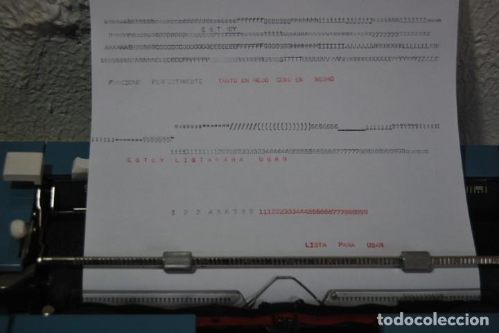 Antigüedades: maquina de escribir olivetti en perfecto estado - Foto 5 - 259707555
