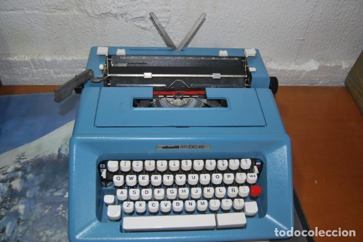 Antigüedades: maquina de escribir olivetti en perfecto estado - Foto 6 - 259707555