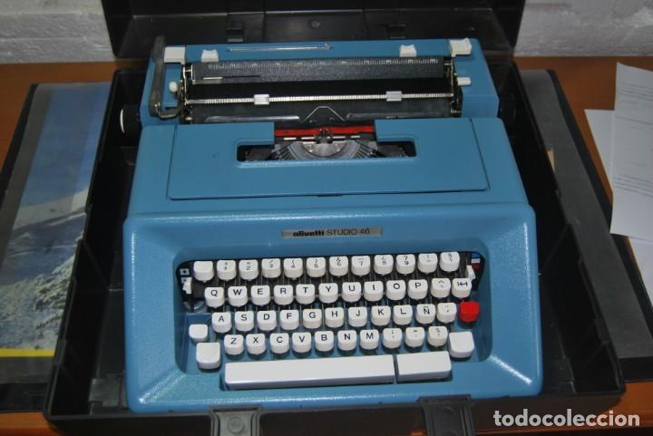 Antigüedades: maquina de escribir olivetti en perfecto estado - Foto 11 - 259707555