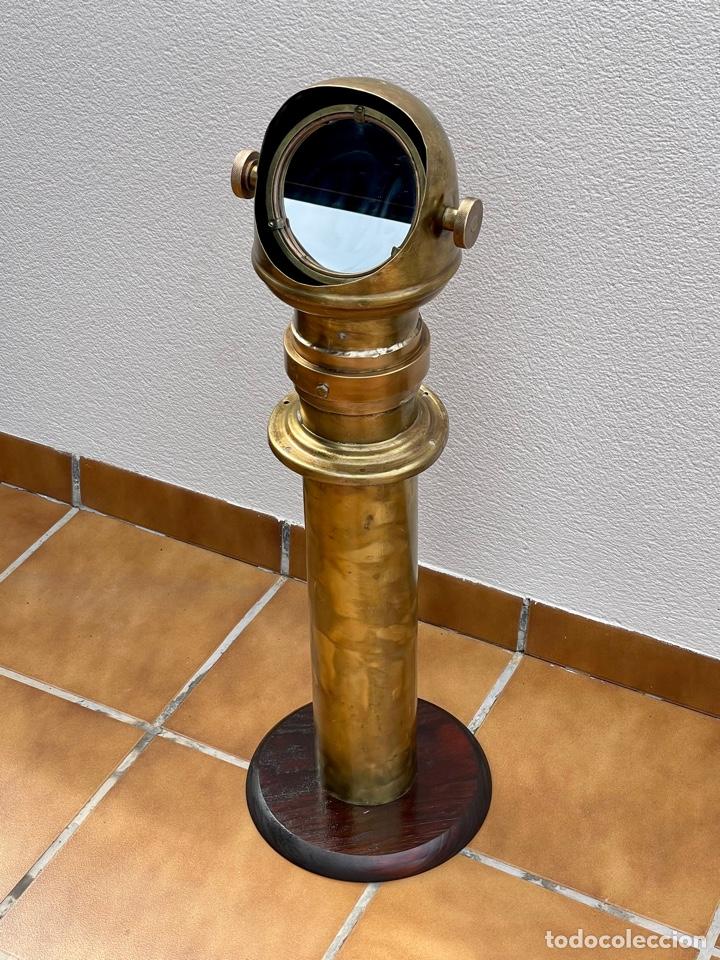 Antigüedades: VISOR DE BRÚJULA COMPÁS NÁUTICO, PERISCOPIO. - Foto 9 - 259711165