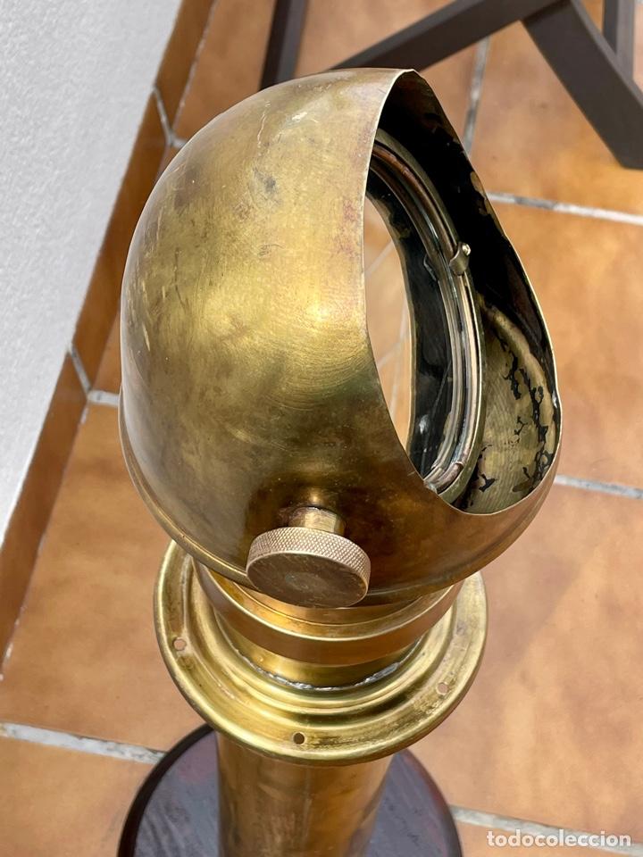 Antigüedades: VISOR DE BRÚJULA COMPÁS NÁUTICO, PERISCOPIO. - Foto 17 - 259711165