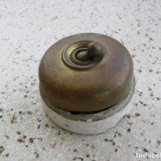 Antigüedades: INTERRUPTOR ANTIGUO. Lote 259894150