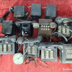 Teléfonos: CONJUNTO DE CENTRALITAS E INTERCOMUNICADORES. LA TELEIBERICA. CIRCA 1930.. Lote 260050990