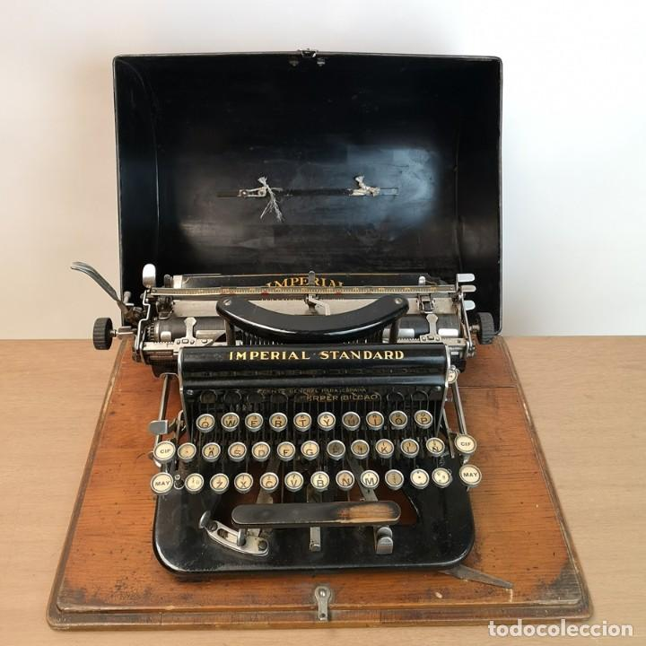 MÁQUINA DE ESCRIBIR IMPERIAL STANDARD (Antigüedades - Técnicas - Máquinas de Escribir Antiguas - Otras)