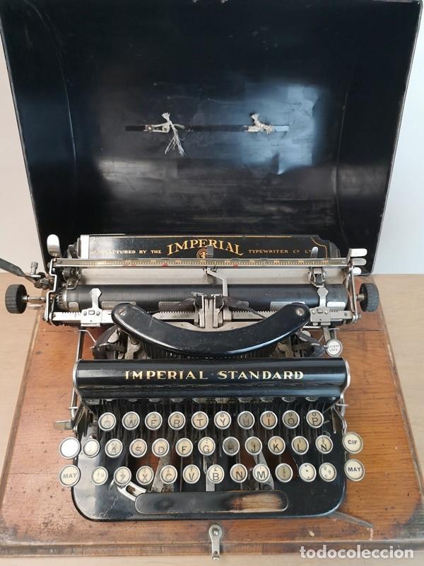 Antigüedades: Máquina de Escribir Imperial Standard - Foto 2 - 260078135