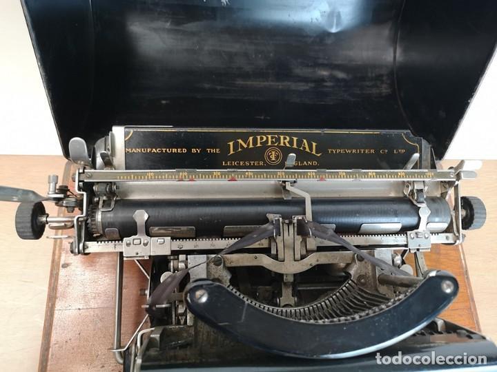 Antigüedades: Máquina de Escribir Imperial Standard - Foto 4 - 260078135