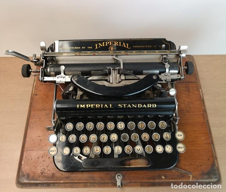 Antigüedades: Máquina de Escribir Imperial Standard - Foto 6 - 260078135
