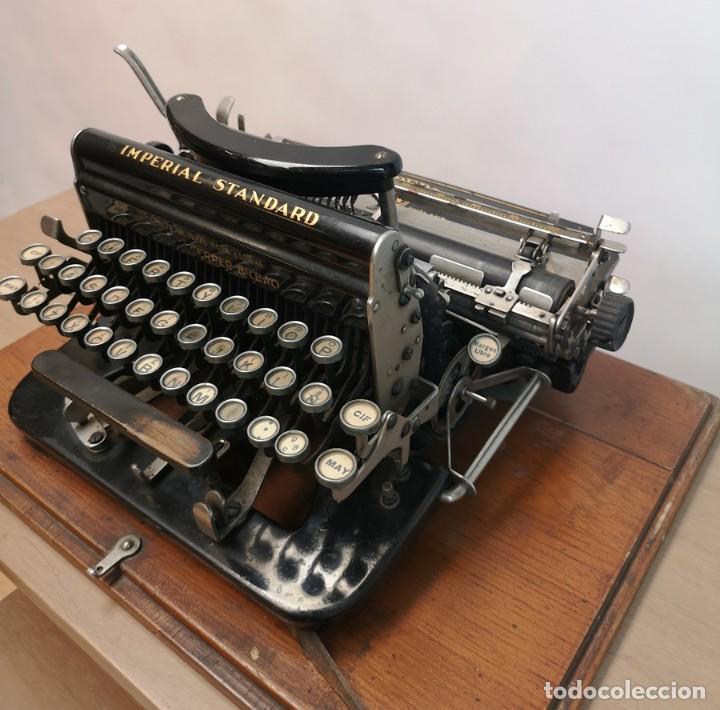 Antigüedades: Máquina de Escribir Imperial Standard - Foto 7 - 260078135