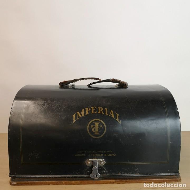 Antigüedades: Máquina de Escribir Imperial Standard - Foto 9 - 260078135