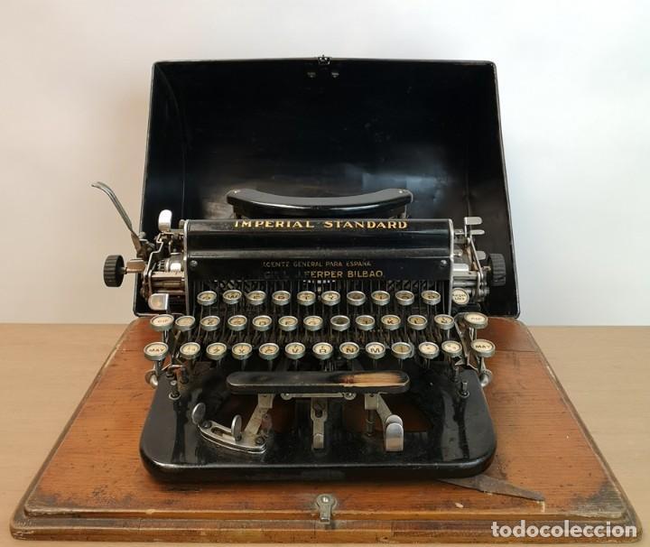 Antigüedades: Máquina de Escribir Imperial Standard - Foto 10 - 260078135