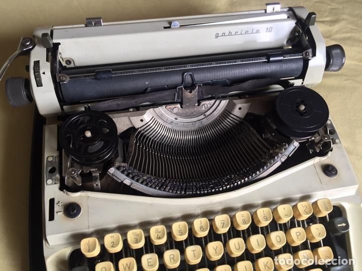 Antigüedades: Maquina de escribir triumph gabriele 10 - Foto 2 - 260533650