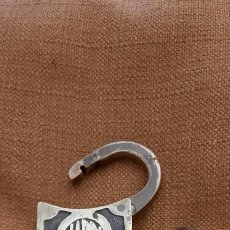 Antiquités: ANTIGUO CANDADO DE BRONCE JARDI. PRINCIPIOS SIGLO XX. Lote 260570180