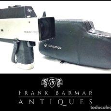 Antigüedades: TOMAVISTAS FILMADORA DE CINE SUPER 8 MM VINTAGE - AGFA MOVEXOOM 3000 CON FUNDA ORIGINAL. Lote 260600940