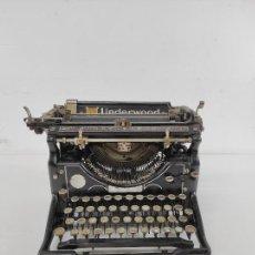 Antigüedades: ANTIGUA MAQUINA DE ESCRIBIR - TYPEWRITER UNDERWOOD Nº 5 - AÑO 1912. Lote 260641075